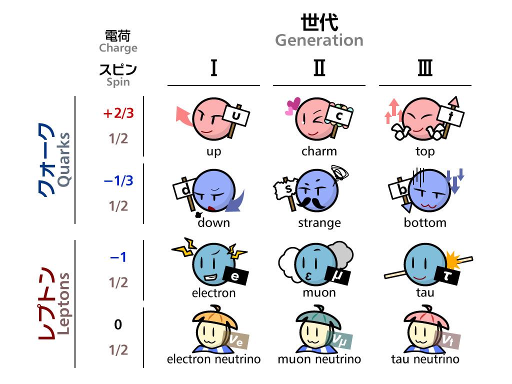 標準模型の基本粒子 | HiggsTan